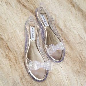 Steve Madden Glitter Jelly Sandals